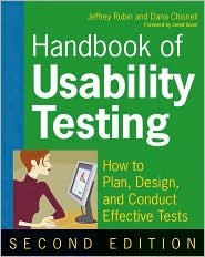 Handbook of Usability Testing 2nd (second) edition Text Only