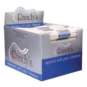Randy's Pipe Cleaners Soft Bristle 44 Ct 100% Cotton