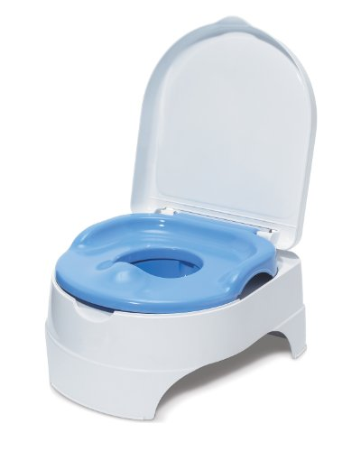 Summer Infant All-in-One Potty Seat and Step Stool, Blue