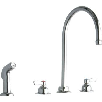 Amazing Cheap Price Elkay Lk801gn08l2 Kitchen Faucets Chrome Brass 4 Hole Very Shopping And Deals