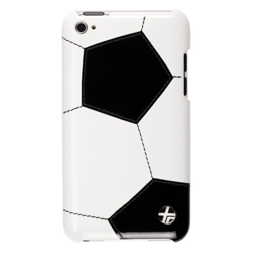 Trexta Sports Series Snap-On Leather Case for iPod touch 4G (Soccer)
