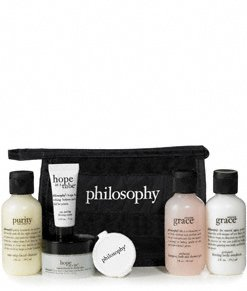 philosophy | little black bag | travel kit