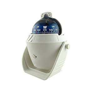 groß K LED Kugelkompass Bootskompass Schiffskompaß Kompass Kompaß Navigation BIG Weiß