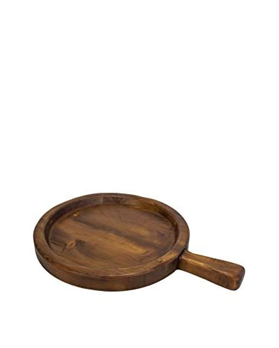 bambeco Reclaimed Timber Spanish Olive Tray, Brown