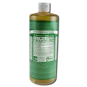 Dr Bronners Magic Pure-Castile Soap Organic Almond 32 oz