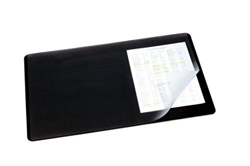 durable-720201-sottomano-con-rivestimento-trasparente-530-x-400-mm-colore-nero-530-x-400-mm-nero