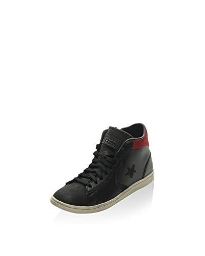Converse Sneaker Pro Lp Mid Z T schwarz/rot