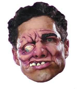 Chinless Mutant Adult Halloween Mask