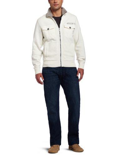 Calvin Klein Jeans Men's Military Fleece Jacket