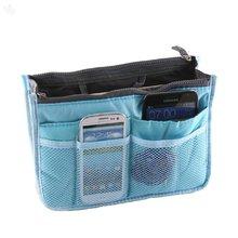 Zansaar Exclusives Handbag Organiser Sky Blue