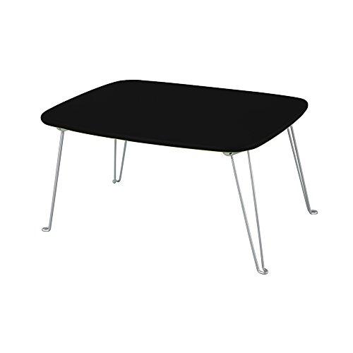 折りたたみテーブル ミニテーブル センターテーブル ローテーブル 木製テーブル 折り畳み ブラック