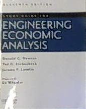 Engineering Economic Analysis - Study Guide