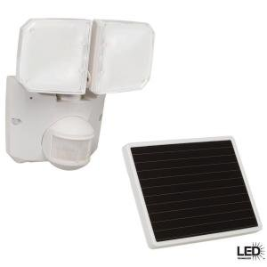 Defiant 180 Degree Outdoor Motion Activated Solar Powered