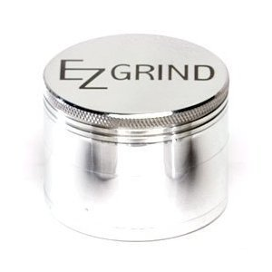 Ez Grind 4 Piece Aluminum Herb Grinder Mini 40Mm