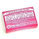 Bar Soap, Organic, Rose, 5 oz ( Multi-Pack)