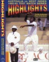 Australia vs West Indies: 1992 - 1993 Test Series