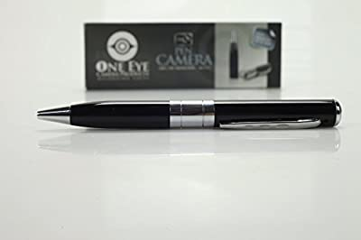 Hidden Camera Spy Pen Recorder Dvr Silver REAL HD 720p Best Cam Kit, NO LIGHTS RECORDING, Up to 32gb tf Card (Not Included) 90 d. Full Money Back Guarantee!