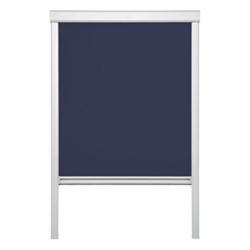 Lichtblick DRS.C04.09 Dachfensterrollo Skylight für Velux Dachfenster, Thermo, Verdunkelung - Blau (C04)