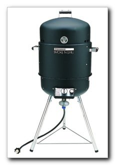 Review Of Brinkmann Smoke'N Grill Gas Smoker & Grill, Black (810-5600-0)