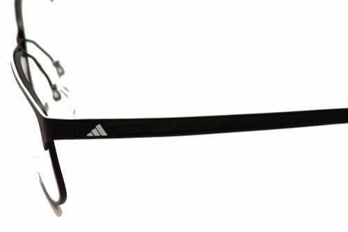 adidas Adidas Eyeglasses AF17 50 6055 Black/White Stripe Full Rim Optical Frame 55mm