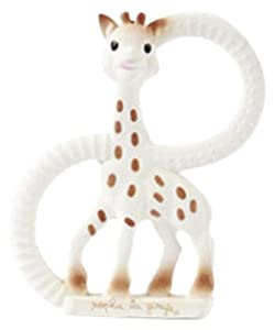 Sophie The Giraffe So Pure Teething Ring Very Soft Version (White)