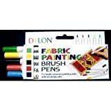Dylon Fabric Pens Pack of 5 (Standard)