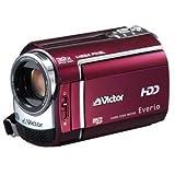 Victor ハードディスクビデオカメラ Everio (エブリオ)GZ-MG330 ルージュレッド GZ-MG330-R (HDD30GB)
