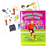 8 x FOOTBALL STICKER ACTIVITY BOOKS SIZE A6