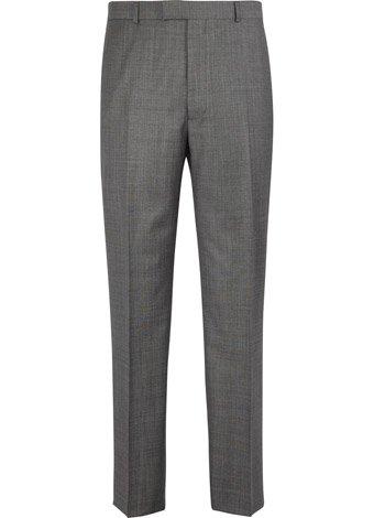 Austin Reed Contemporary Fit Grey Sharkskin Trousers REGULAR MENS 30
