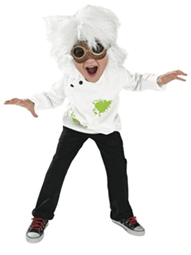 [Mad Scientist Outfit Boys Halloween Costume] (Scientist Costume)