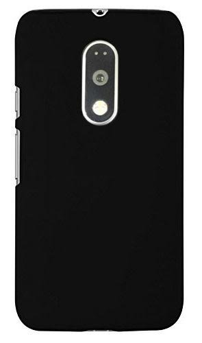 Zynk Case(TM) Back Cover for MOTO G4 Plus (G4 plus Moto G 4th Generation)-Pitch Black