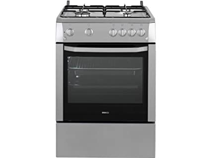 Beko CSG62110DS - Cuisinière Tout Gaz CUIS 60*60 4GZ FR GAZ CATA TH