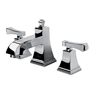Kohler K-10272-4-CP Polished Chrome Double Handle Widespread