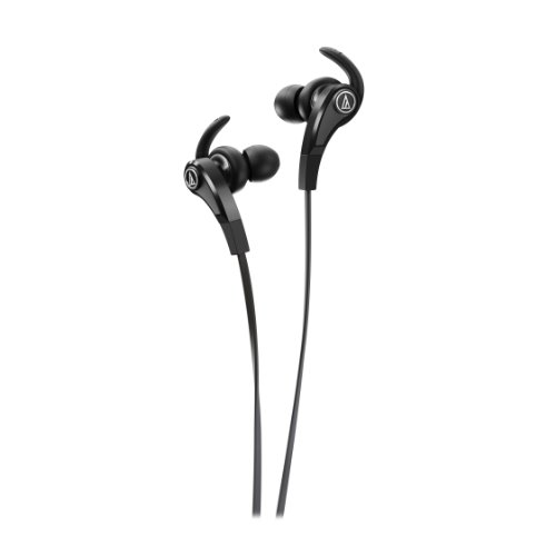 Audio Technica Sonic Fuel Ath-Ckx9 In-Ear Headphones, Black
