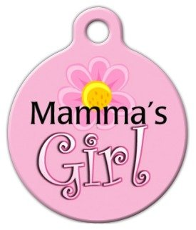 Dog Tag Art Custom Pet ID Tag for Dogs - Mama's