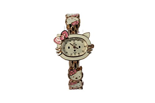 Hello-Kitty-6-Face-Watch-Pink-Hello-Kitty-Water-Resistant-Wristwatch-HKW29