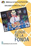 img - for Elogio De La Fonda (Biblioteca de autores de Puerto Rico) book / textbook / text book
