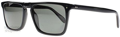 Oliver Peoples 5189 1005N5 Black Bernardo Wayfarer Sunglasses Polarised