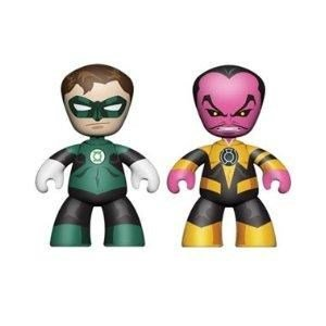 Mezco Toyz DC Universe Mini Mezitz Green Lantern/Sinestro (Pack of 2) - 1