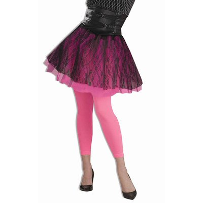 Footless Tights Neon Accessory Color: Green