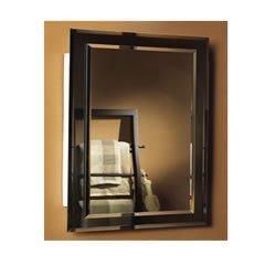 NuTone 1450BC Mirror on Mirror Frameless Single-Door Recessed Medicine Cabinet