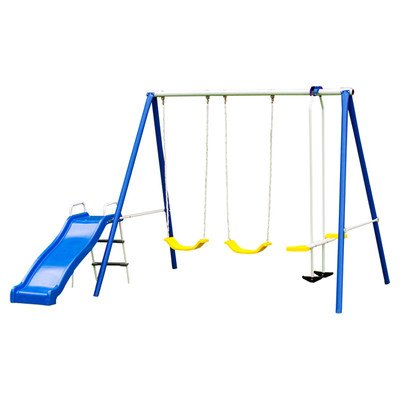 ... Flexible Flyer Backyard Fun Plays Swing Set ...