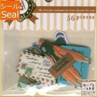 Mind Wave Japan Favorite Stickers 74896 Staionary2 56pcs