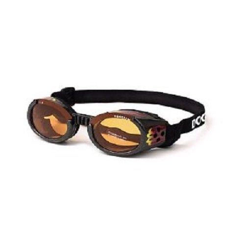 Artikelbild: Doggles Doggles Hundebrille Sonnenbrille Hund 'Racing Flames' Gr. XS (für Hunde bis 5 kg)