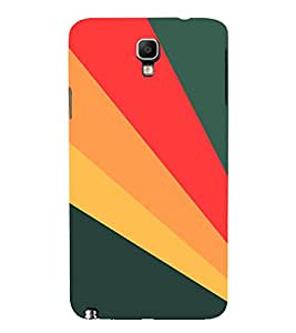 PrintVisa Modern Digital Art Pattern 3D Hard Polycarbonate Designer Back Case Cover for Samsung Galaxy Note 3 Neo
