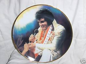 Loving You Elvis Collectors Plate