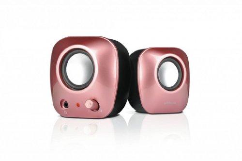 Speedlink 8003-SPI Snappy Aktiv Stereo Lautsprecher pink