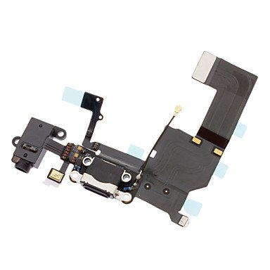 Good Dock Charging Port Headphone Jack Mic Connector Flex Cable For Iphone 5C