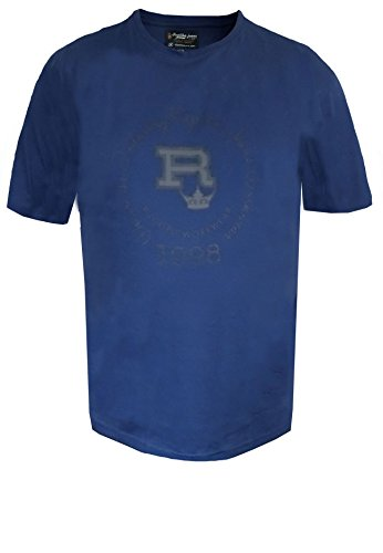 Replika -  T-shirt - Uomo blu XXXX-Large