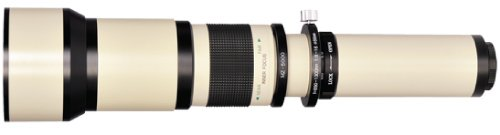 Bower 650-1300Mm Preset Telephoto Lens With 2X (Up To 2600 Mm Total) For Nikon Dslr D40,D40X,D50,D60,D70S, D80,D90,D3100, D5000, D5100,D7000